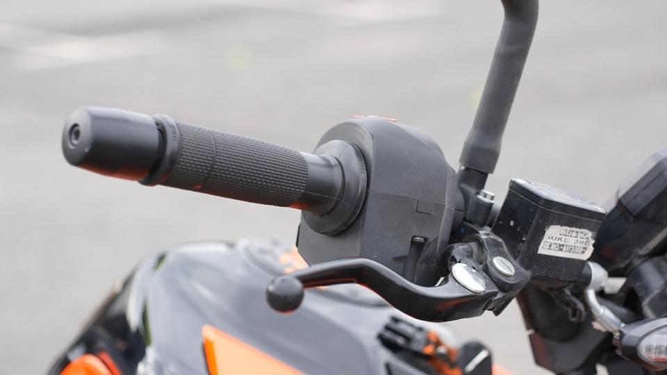 Разгон мотоцикла